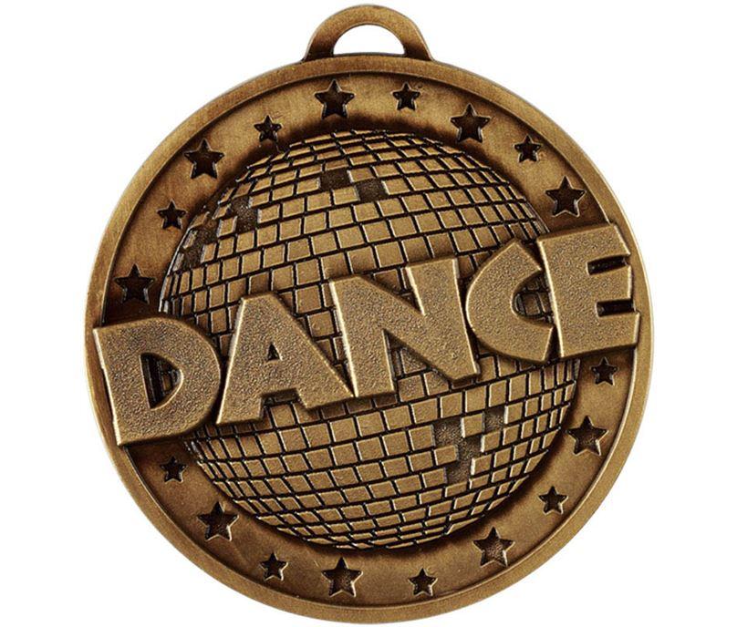 "Bronze Dance Target Medal 50mm (2"")"