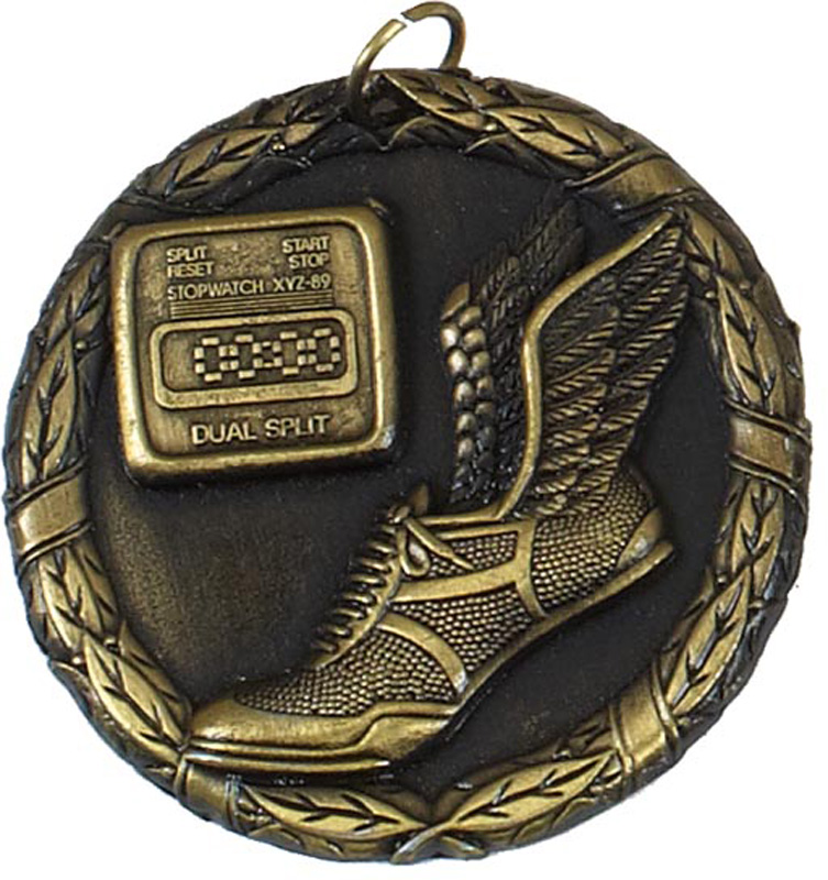 "Gold Laurel Sprint Medal 50mm (2"")"