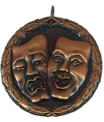 "Bronze Laurel Drama Medal 50mm (2"")"