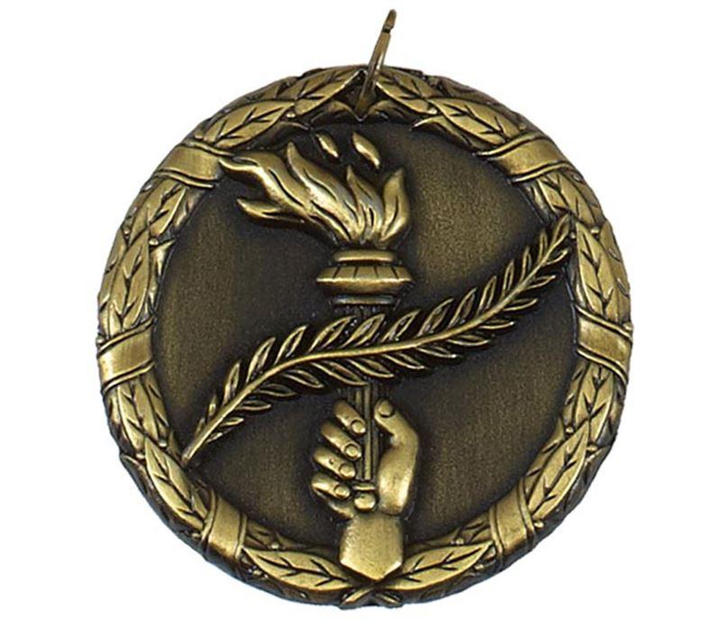 "Gold Laurel Wreath Victory Medal 50mm (2"")"