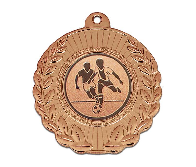 "Bronze Laurel Wreath Medal with Centre Disc 50mm (2"")"
