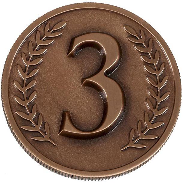 "Bronze Heavyweight Prestige 3rd Place Medal 60mm (2.25"")"
