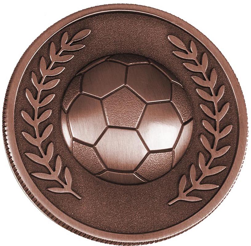 "Bronze Heavyweight Prestige Football Medal 60mm (2.25"")"