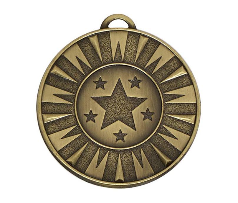 """Bronze Flash Target Medal 50mm (2"""")"""