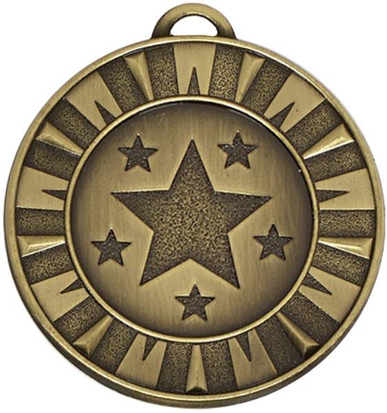 """Bronze Flash Target Medal 4cm (1.5"""")"""