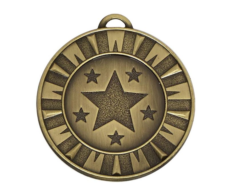 "Bronze Flash Target Medal 40mm (1.5"")"