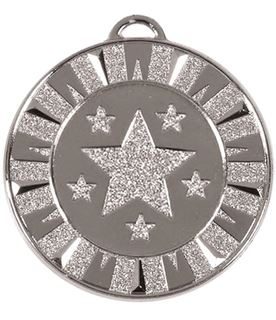 "Silver Flash Target Medal 40mm (1.5"")"