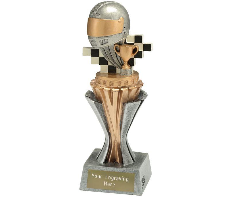 "Flexx Motorsport Trophy Silver and Gold 19cm (7.5"")"