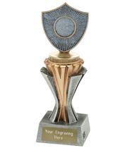 """Flexx Shield Silver and Gold 19cm (7.5"""")"""