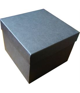 Dark Grey 1/2pt Tankard Presentation Box with Silk Lining 12cm x 15cm