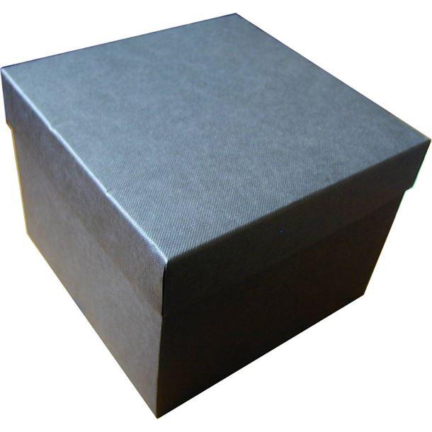 Dark Grey 1/2pt Tankard Presentation Box with Silk Lining 12cm x 15cm