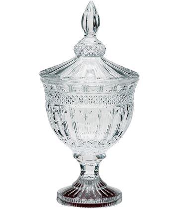 """Lindisfarne St Aidan Crystal Bowl & Lid 39cm (15.5"""")"""