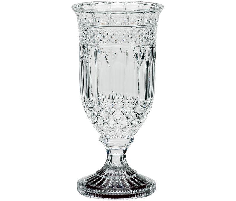 """Lindisfarne St George Crystal Vase 31cm (12.25"""")"""