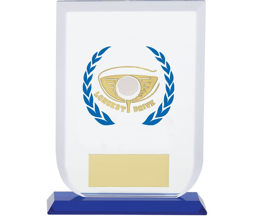 "Longest Drive Gladiator Glass Award 16cm (6.25"")"
