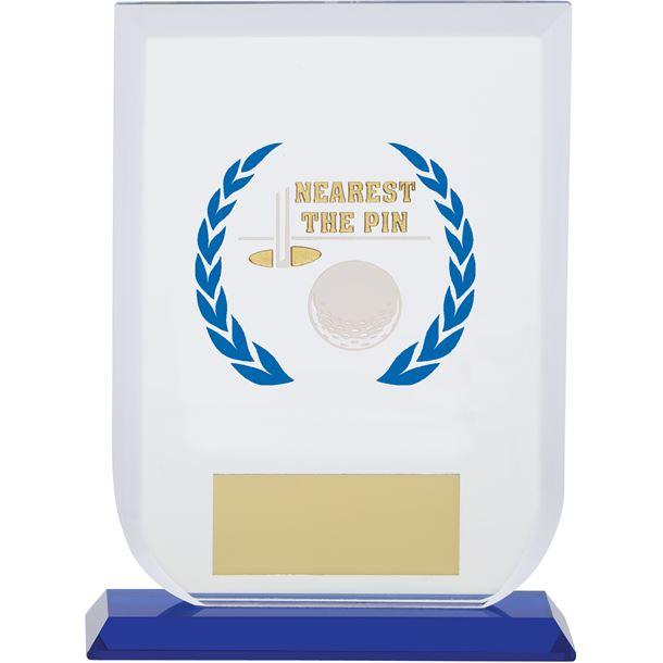 "Nearest The Pin Gladiator Glass Award 16cm (6.25"")"