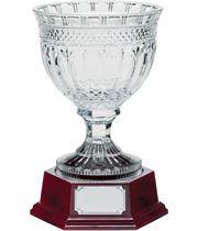 """Lindisfarne St Aiden Crystal Vase & Base 29.5cm (11.75"""")"""