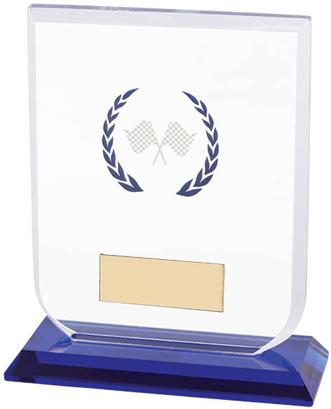 "Motorsport Gladiator Glass Award 12cm (4.75"")"