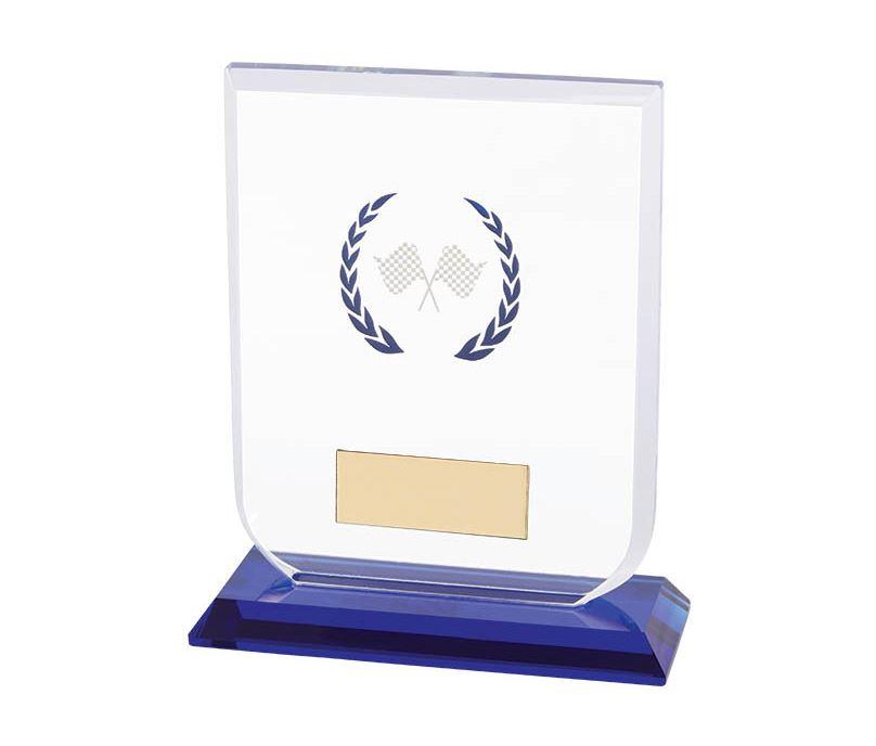 "Motorsport Gladiator Glass Award 12cm (4.75"")"