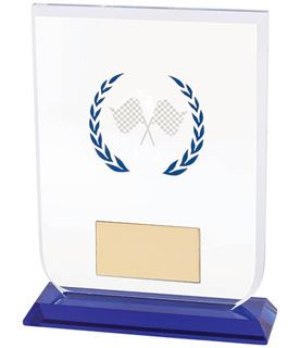 "Motorsport Gladiator Glass Award 14cm (5.5"")"
