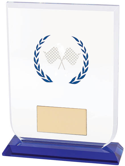 "Motorsport Gladiator Glass Award 14cm (5.5"")"