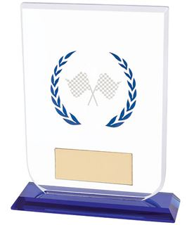"Motorsport Gladiator Glass Award 16cm (6.25"")"