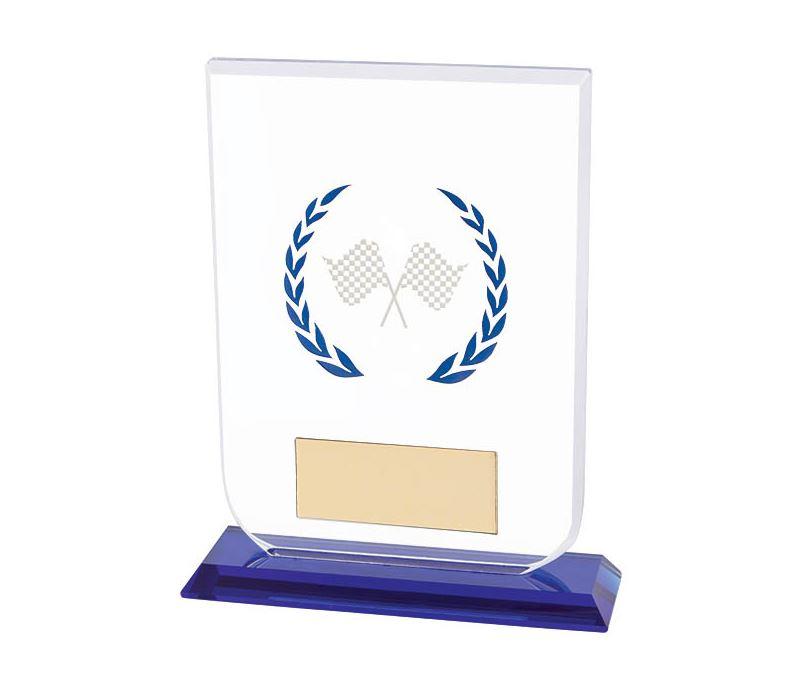 "Motorsport Gladiator Glass Award 16cm (6.25"")"