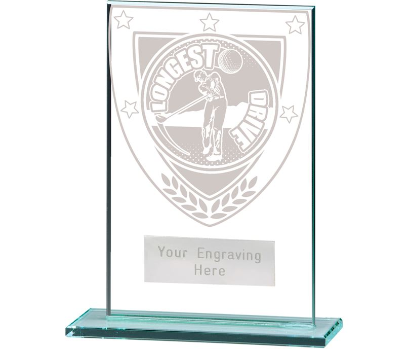 "Millennium Longest Drive Jade Award 12.5cm (5"")"