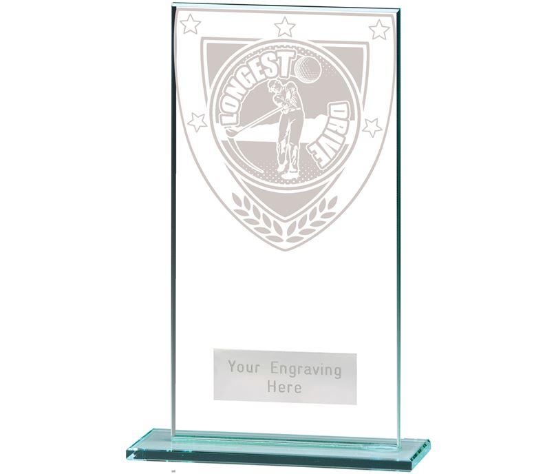 "Millennium Longest Drive Jade Award 16cm (6.25"")"