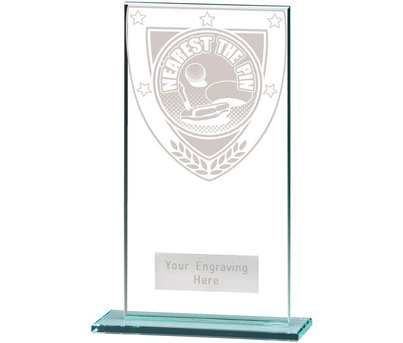"Millennium Nearest the Pin Jade Award 16cm (6.25"")"
