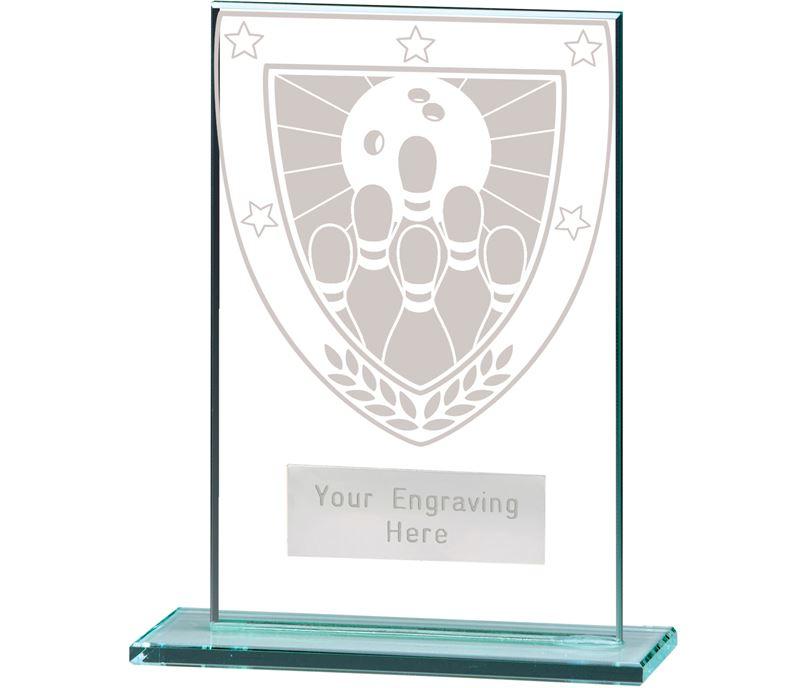"Millennium Ten Pin Bowling Jade Award 12.5cm (5"")"