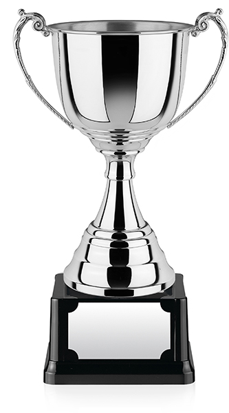"""Revolution Nickel Plated Presentation Cup with Polished Finish 44.5cm (17.5"""")"""