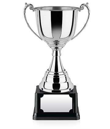 "Revolution Nickel Plated Presentation Cup with Polished Finish 48.5cm (19"")"