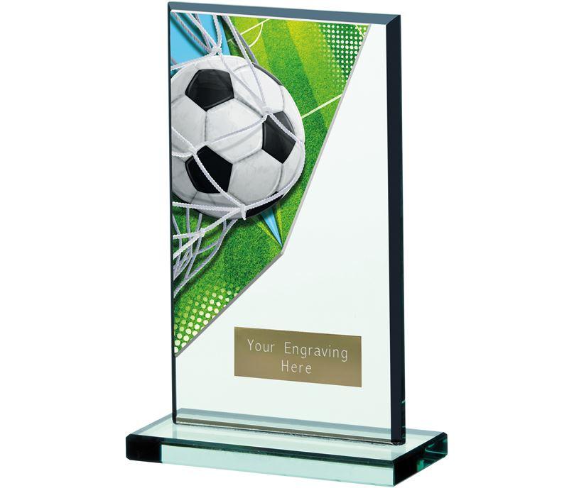 """Football Acrylic Glass Award 17cm (6.75"""")"""