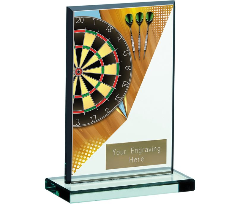 "Darts Acrylic Award 13cm (5.25"")"