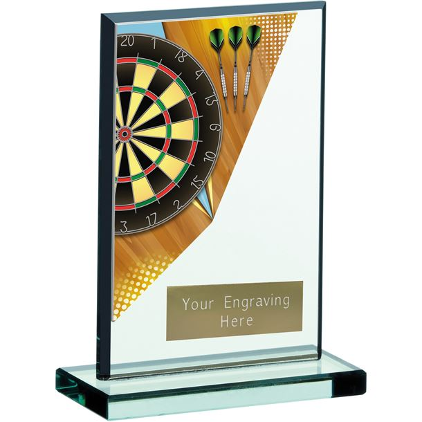 "Darts Acrylic Award 15cm (6"")"