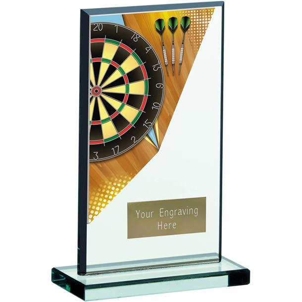 "Darts Acrylic Award 17cm (6.75"")"