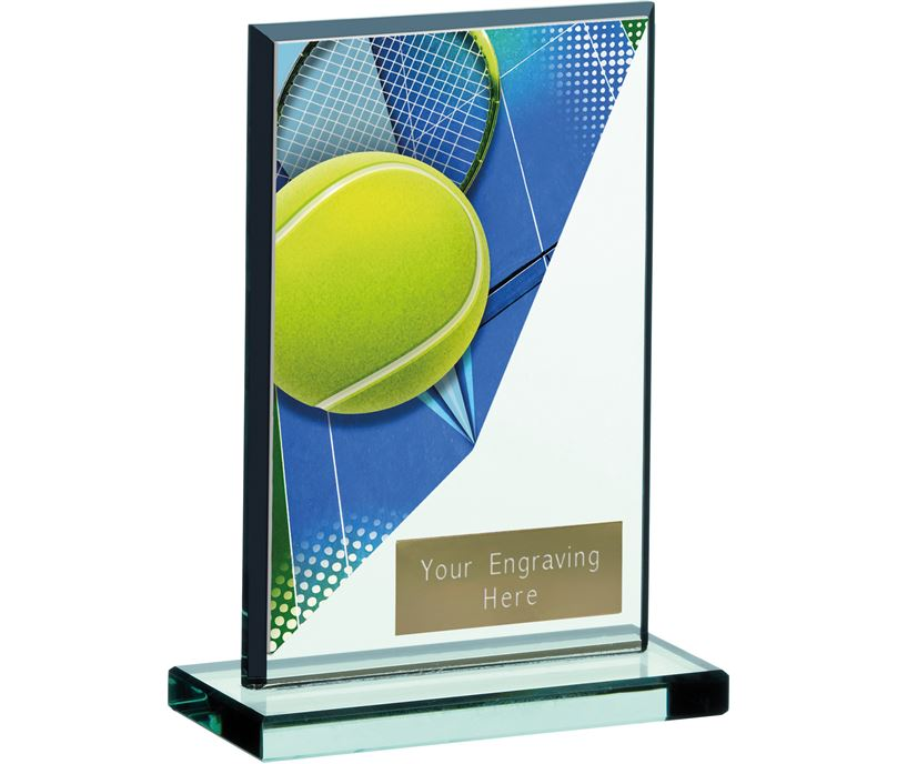 "Tennis Acrylic Glass Award 13cm (5.25"")"