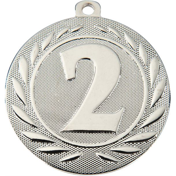 """2nd Place Gallant Medal Silver 50mm (2"""")"""