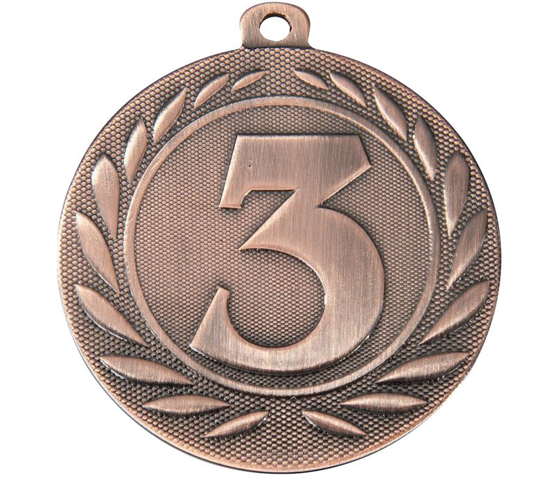 "3rd Place Gallant Medal Bronze 50mm (2"")"