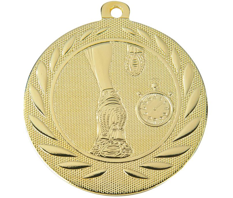 "Running Gallant Medal Gold 50mm (2"")"