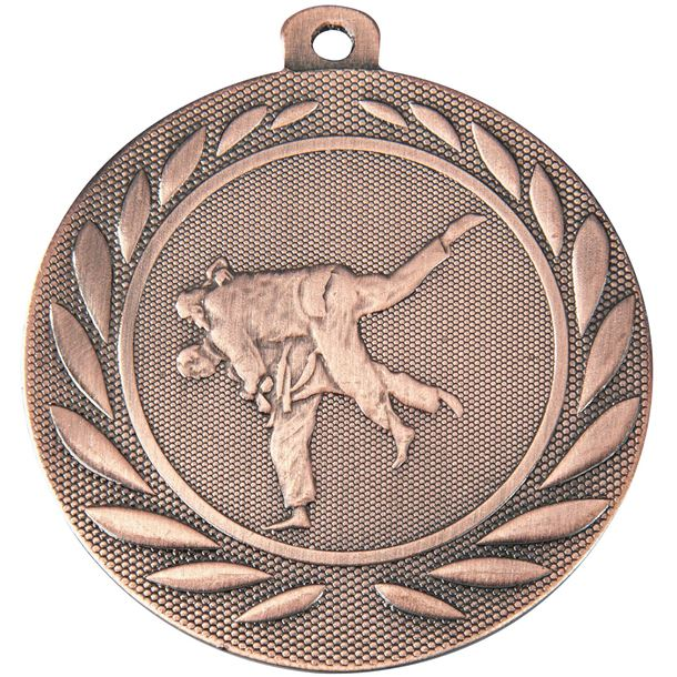 "Martial Arts Gallant Medal Bronze 50mm (2"")"