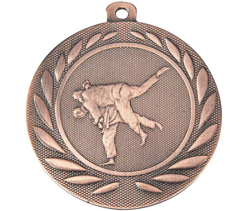 """Martial Arts Gallant Medal Bronze 50mm (2"""")"""