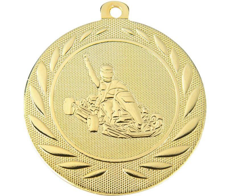 "Karting Gallant Medal Gold 50mm (2"")"