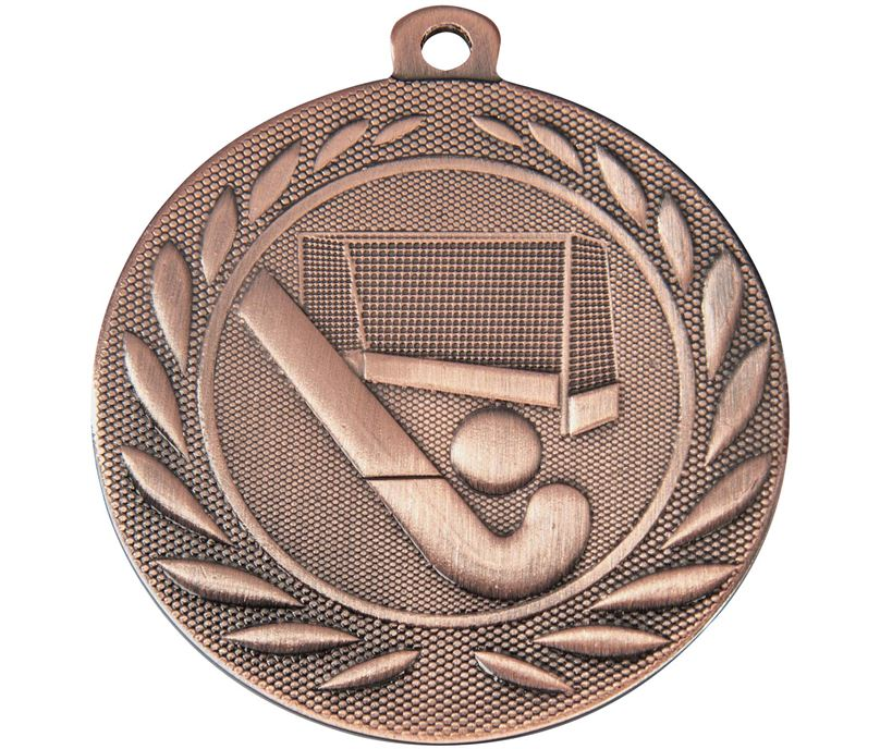 "Hockey Gallant Medal Bronze 50mm (2"")"