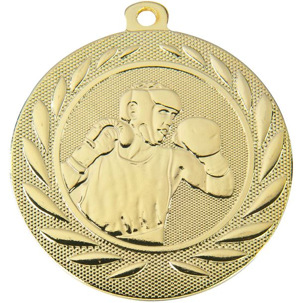 "Boxing Gallant Medal Gold 50mm (2"")"