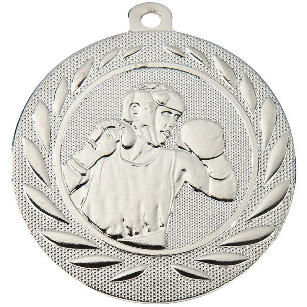 "Boxing Gallant Medal Silver 50mm (2"")"
