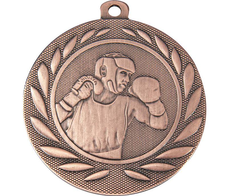 "Boxing Gallant Medal Bronze 50mm (2"")"