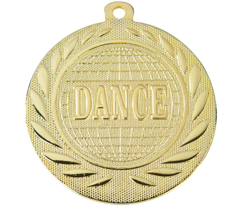 "Dance Gallant Medal Gold 50mm (2"")"