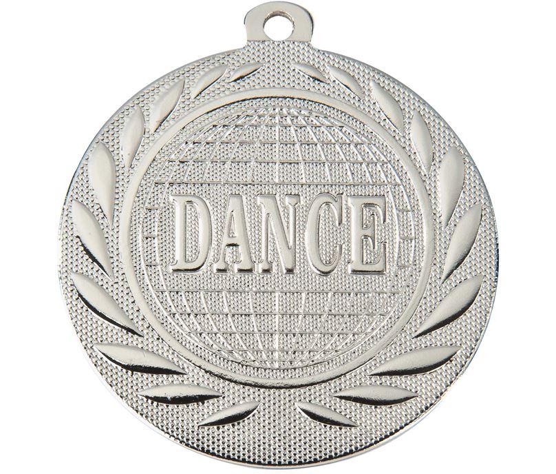 "Dance Gallant Medal Silver 50mm (2"")"