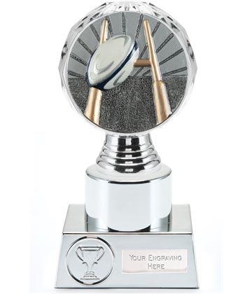 "Rugby Trophy Silver Hemisphere16.5cm (6.5"")"